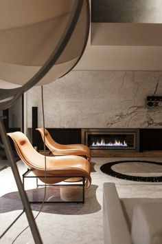 #architecture #design #interiors #living room #fireplaces #style #contemporary - WEI YI DESIGN ASSOCIATES | LUZHOU PENTHOUSE