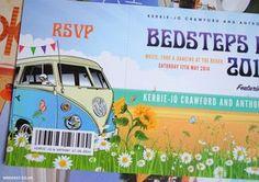VW Campervan / Beach Themed Wedding Invitations | WED FEST