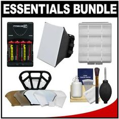 Camera Store, Diffuser, Charger, Essentials, Kit, Canon, Computers, Electronics, Accessories