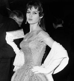 Brigitte Bardot at the 1955 Cannes Film Festival