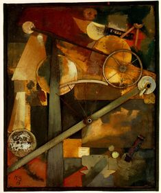 Construction for Noble Ladies - Kurt Schwitters - WikiArt.org
