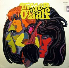 vinyl-artwork:  The Other Half, 1968. Cover by Tom Hall. The Other Half (Full album)
