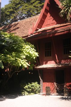 House and museum of Jim Thompson (Dom a múzeum Jima Thompsona), Bangkok