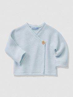 Brassière bébé tricot Bio Collection  - vertbaudet enfant