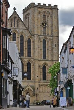 Ripon cathedral, Yorkshire, England c 1547