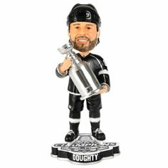 Drrrrreeeeeeeeeeewww Dooooouuuuuuughtyyyyyyyy Los Angeles Kings 2014 Stanley Cup Champions Collectible Bobblehead - Shop.NHL.com