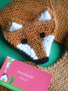 Baby Boy Knitting Patterns, Knit Patterns, Crochet Baby, Knit Crochet, Tricot Baby, Fox Scarf, Kids And Parenting, Ravelry, Knitted Hats