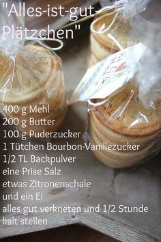 Rezept für Alles-ist-gut-Plätzchen