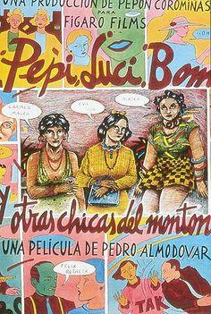 """""""Pepi, Luci, Bom y otras chicas del montön"""" 1980. Alaska.."""