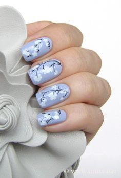 Check out these Cute floral nail designs, simple flower nail designs, flower nail art designs to inspire you towards fashionable nails like you never imagined before. Nail Art Flower, Flower Nail Designs, Floral Nail Art, Cute Nail Designs, Cute Nail Art, Cute Nails, Pretty Nails, Nail Design Rosa, Nails Design