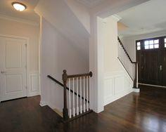 Open basement staircase basement entrance, staircase to basement, basement Open Basement Stairs, Stairs In Kitchen, Basement Steps, Basement Entrance, Open Stairs, Basement Carpet, Kitchen Reno, Staircase Remodel, Staircase Design