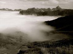 ein Blick vom #Nebelhorn im #Allgäu