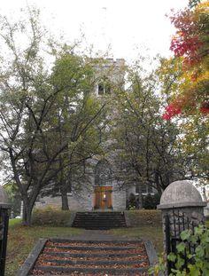 Igreja Unida de Santo André em Martintown, província de Ontário, Canadá. Construída como Presbiteriana em 1910.  Fotografia: Dominic Labbe no Flickr.