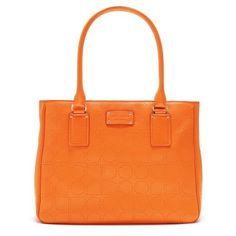 Kate Spade 'Noel' bag in orange - this will be my new summer purse