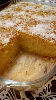 Greek Sweets, Greek Desserts, Greek Recipes, Semolina Flour Recipe, Snickerdoodle Cake, Food Gallery, Sweets Cake, Flour Recipes, How To Make Cake