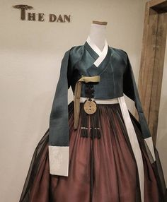 Our haute couture, beautiful The Dan Hanbok. Made just for you, for your special day. Korean Traditional Dress, Traditional Fashion, Traditional Dresses, Korean Fashion Trends, Asian Fashion, Textiles, Korea Dress, Modern Hanbok, Culture Clothing