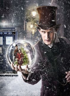 Promo image from Doctor Who: The Snowmen