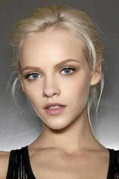 Natural Makeup natural blonde eyebrows Plus - You only need to know some tricks to achieve a perfect image in a short time. Natural Everyday Makeup, Natural Makeup Looks, Natural Make Up, Soft Makeup, Pretty Makeup, Natural Beauty, Natural Brows, Simple Makeup, Natural Face