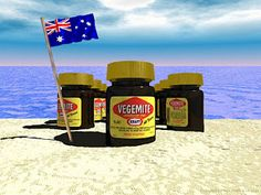 A smear of thick, black Vegemite on some crisp toast is a favorite among Australians. Made from brewer's yeast, the spread was developed in Australia in the 1920's and has since been an Australian kitchen staple -- and a part of the country's history.