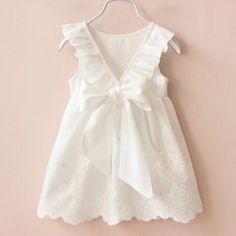 Dress pure white -