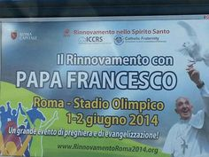 The pope wants to make an assembly of two days ... we copy! advertising is on every bus in rome today  Su tutti i bus di Roma! Il Papa vuole copiarci?