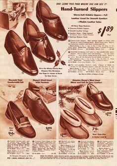 irish 1930s men's slippers - Google Search