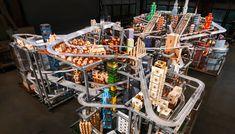 How Chris Burden Created Metropolis II, A Tiny City Where 1,100 Toy Cars Zoom