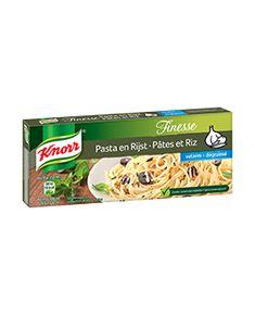 Knorr Bouillon Finesse Pasta en Rijst Pasta, Bread, Food, Meal, Essen, Hoods, Breads, Meals, Sandwich Loaf