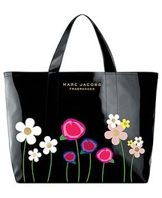 Receive a FREE Tote with large spray purchase from the Marc Jacobs fragrance collection - GIFTS WITH PURCHASE - Beauty - Macy's