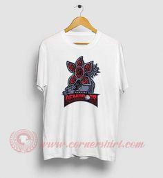 Hawkins Demodogs Stranger Things T Shirts Strange Things Season 2, Superstar Outfit, Stranger Things Shirt, Custom Made T Shirts, Movie T Shirts, Cheap Shirts, Shirt Price, Custom T, Sweater