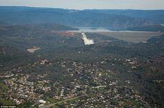 Evacuation: Almost 200,000 people were ordered to leave the towns downhill of the Oroville...