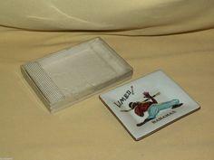 BAHAMAS ASHTRAY LIMBO DISH ORIGINAL BOX DISH GLASS UNMARKED VINTAGE SOUVENIR