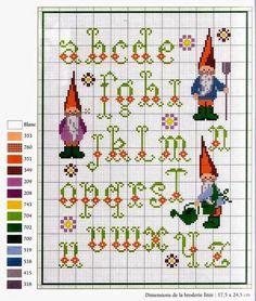 Schemi a punto croce- raccolta alfabeti