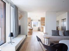 wooden floor interior - Google zoeken