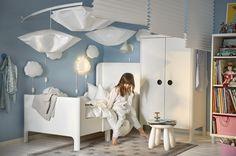HIMMELSK bedhemel | #IKEAcatalogus #nieuw #2017 #IKEA #IKEAnl #garderobekast #wandlamp #led #gordijn #kinderkamer #slaapkamer #kinderen