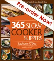 365 Slow Cooker Suppers Alphabetical Index