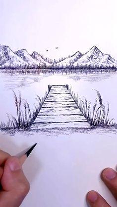 Art Drawings Beautiful, Art Drawings Sketches Simple, Sketch Art, Drawing Ideas, Beautiful Sketches, Art Inspiration Drawing, Drawing Projects, Sketch Ideas, Amazing Drawings