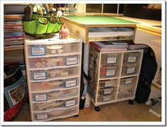 sewing room organization ideas - Google Search