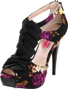 Betsey Johnson Women's Iconnn T-Strap Pump