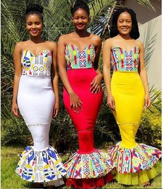 LATEST AFRICAN STYLES: All the shweshwe dresses you see here are all in all hand made,so not available to buy wherever African Traditional Wear, African Traditional Wedding Dress, Traditional Dresses Designs, Traditional Wedding Attire, Traditional Outfits, African Wedding Attire, African Attire, African Dress, African Print Fashion