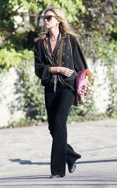 Kate Moss Photos: Kate Moss Runs Errands in London
