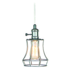 Jeremiah Lighting Aged Galvanized Mini-Pendant Light | KPMK110-AGV | Destination Lighting