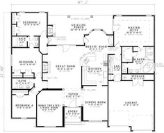 This is pretty close to our house plan we had in our last house we custom built, but I like the few differences this has.