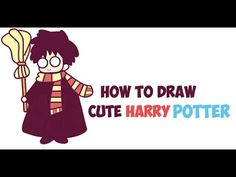 How to Draw Cute Harry Potter (Chibi / Kawaii) Easy Step by Step Drawing Tutorial for Kids - How to Draw Step by Step Drawing Tutorials