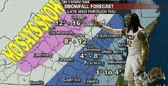 Mo Says Snow! #HAVOC
