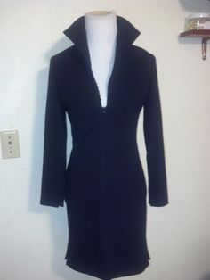 GALANOS  60s Vintage Couture James Galanos Black by Angelsvintage1, $550.00