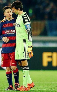 Messi & Barovero