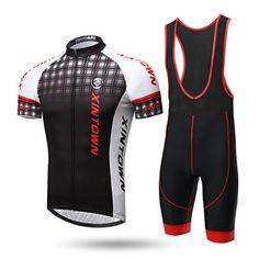 TeyxoCo Men Classic Cycling Gel Pad Bid Jersey Set XXXL -- Read more  at the image link.Note:It is affiliate link to Amazon.