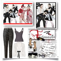 """""""Crazy For Polka Dots!"""" by passion-fashion-2 on Polyvore"""