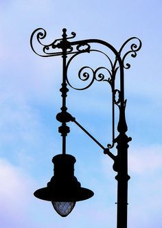 street lamp - just beautiful...